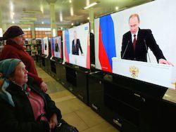 Путин обвинил спекулянтов в падении уровня жизни россиян