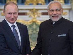 Путин и премьер Индии высоко оценили результаты сотрудничества