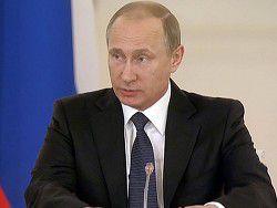 Путин поздравил спасателей с 25-летием МЧС