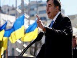 Эксперты назвали Саакашвили политиком года в Украине