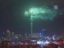 В Новой Зеландии уже встретили Новый 2016 год