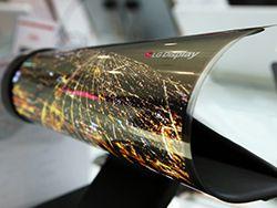 LG создала тонкий, как бумага, гнущийся OLED-дисплей