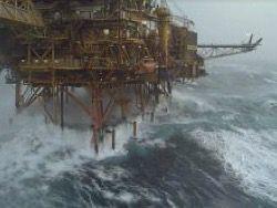 BP  остановил добычу в Северном море