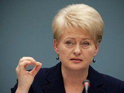 Новость на Newsland: Грибаускайте: сроки безвизового режима для Украины сдвинулись
