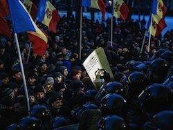 Протесты в Молдавии: сверхкритический уровень