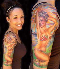 Портретные татуировки (фото)