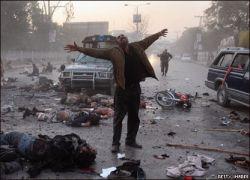 Гибель Беназир Бхутто. Фото с места трагедии (фото)