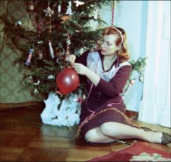 Новогодние фото с 1936 года по наши дни (фото)
