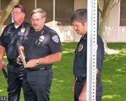 Снегоход - оружие полиции в США