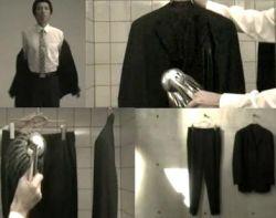 Спецодежда для офисного планктона - моющийся костюм