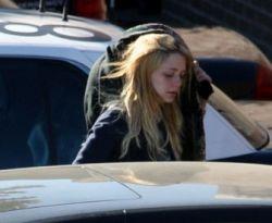 Миша Бартон курила марихуану, когда ее арестовали (фото)