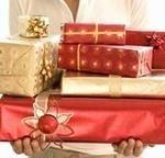 10 способов вручения Новогодних подарков