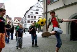 Игра в футбол - наилучшее средство для оздоровления организма