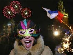 Новый год на Красной площади встретили 40 тысяч человек
