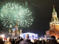 Празднование Нового года в России прошло без происшествий