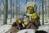 Новогодний промо-ролик про Шрэка (Shrek) и его семейство (видео)
