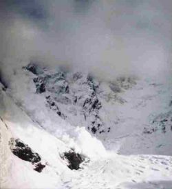 В Сочи прогнозируются сходы лавин