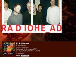 Последний альбом Radiohead появился на iTunes