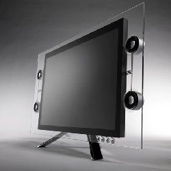 Dell официально представил сверхтонкий монитор Crystal