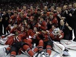 Канада стала чемпионом мира по хоккею среди молодежных команд