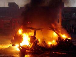 """На вопрос \""""Ну и где же терроризм?\"""" иракским солдатам ответили взрывом"""