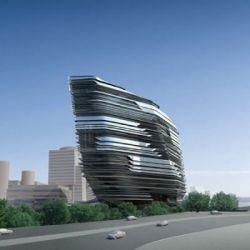 Башня новаторства в Гонконге (фото)