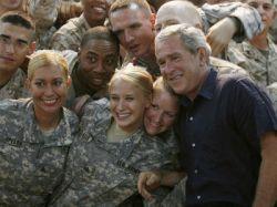 Джордж Буш начинает восьмидневное турне по шести странам Ближнего Востока