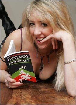 Британка написала словарь оргазмов