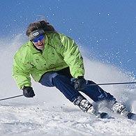 За превышение скорости теперь будут штрафовать спускающихся с горы лыжников