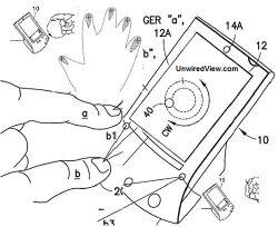 Патент Nokia предлагает использовать трехмерную систему управления телефоном