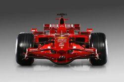 Команда Ferrari презентовала новый болид F2008 (фото)