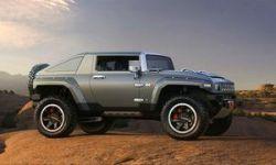 Компания Hummer предоставила информацию о концепте HX