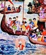 Древние индусы плавали в Европу