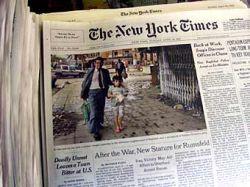 Городской блог The New York Times переберется на бумагу