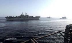 Иранская провокация в Персидском Заливе (фото)