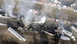 Во Флориде одновременно столкнулись 70 машин (фото)