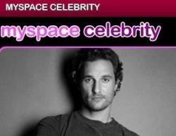 MySpace запустила канал для знаменитостей - MySpace Celebrity