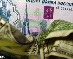 Реальный курс рубля за 2007 год повысился на 5,3%