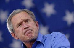 Джордж Буш напомнил журналистам о сложностях английского языка