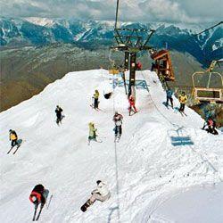 В Красной поляне построен новый горнолыжный комплекс