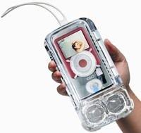 Водонепроницаемый чехол и колонки для iPod в одном