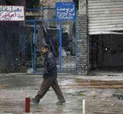 В Багдаде впервые за много лет пошел снег