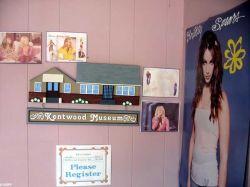 Из детской комнаты Бритни Спирс (Britney Spears) сделали музей (фото)