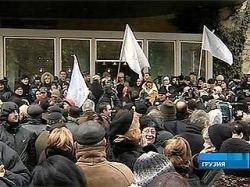 Мэрия Тбилиси дала разрешение на проведение массовой акции протеста оппозиции