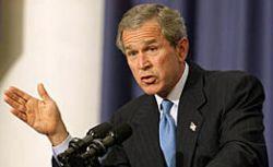 Джордж Буш изменил свою позицию в отношении палестинцев
