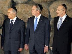 """Джордж Буш в Иерусалиме со слезами на глазах: \""""Нам нужно было разбомбить Освенцим\"""""""