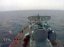 Японский флот возвращается в Индийский океан
