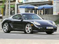 Измененный Porsche Cayman — бампер в стиле модели Boxster