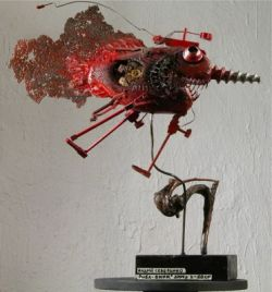 Креативные поделки в стиле steampunk от Эндрю Северинко (Andrew Severynko) (фото)