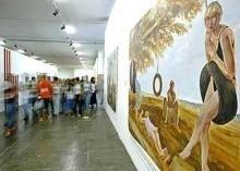 В Бразилии устроили концептуальную выставку без экспонатов